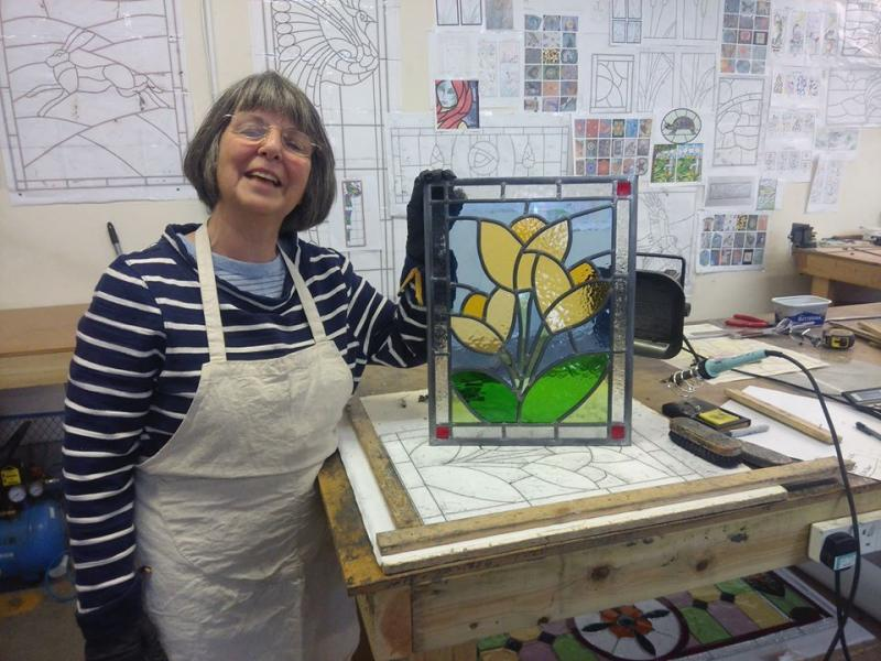 NEW COURSE! Two Day Masterclass - Design and Make your Own Stained Glass Window